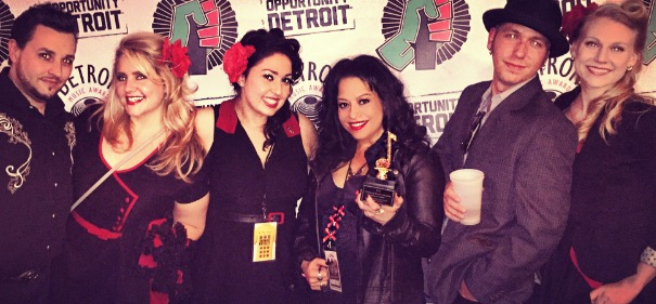 RRR Detroit Music Awards Band Pic