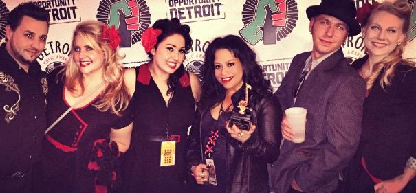 RRR Detroit Music Awards Band Pic