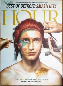 Hour Detroit Best of 2014 Plaque 2