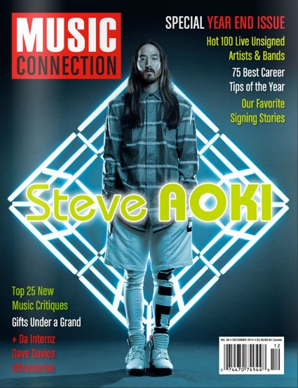 Music Connection Cover - Hot 100 copy